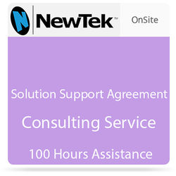 NewTek Solution Support Agreement Consulting Service (100 Hours Assistance)