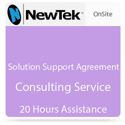 NewTek Solution Support Agreement Consulting Service (20 Hours Assistance)