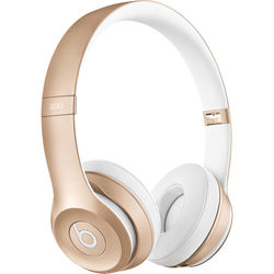 Beats by Dr. Dre Solo2 Wireless On-Ear Headphones (Gold)