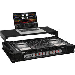 Odyssey Innovative Designs Black Label Glide-Style Case for Pioneer DDJ-SX/SX2 DJ Controller