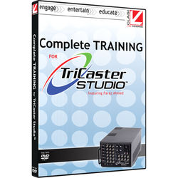 Class on Demand Online Tutorial: Complete Training for Newtek TriCaster Studio