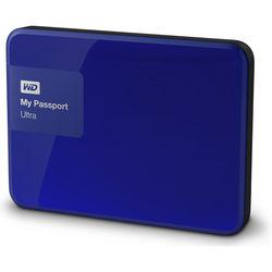 WD 2TB My Passport Ultra USB 3.0 Secure Portable Hard Drive (Blue)