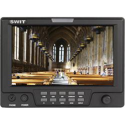 "SWIT S-1071CJ 7"" On-Camera Monitor with JVC BN-V428U Battery Mount"