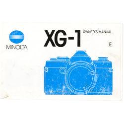 Konica Minolta Instruction Book XG-1