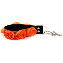 Capturing Couture Organza Key Chain (Orange)