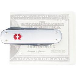 Victorinox Money Clip Pocket Knife (Silver Alox)