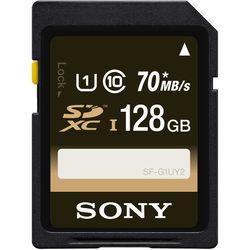 Sony 128GB UHS-I SDXC Memory Card (Class 10)