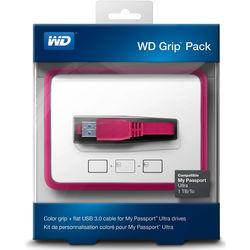 WD Grip Pack for 1TB My Passport Ultra (Fuchsia)
