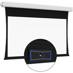 "Da-Lite 24042ELSI ViewShare Tensioned Advantage Electrol 50 x 80"" Ceiling-Recessed Motorized Screen (220V)"