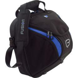 Fusion-Bags Premium French Horn Detachable Gig Bag (Black/Blue)