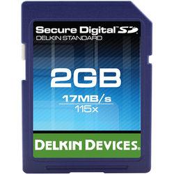 Delkin Devices 2GB SD 115x Memory Card