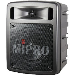MIPRO MA-303du Dual-Channel Portable Rechargeable Wireless PA System (60W, 6A: 620 to 644 MHz)