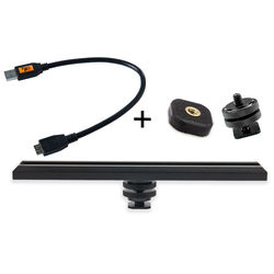 Tether Tools CamRanger Camera Mounting Kit with USB 3.0 Cable (Black)