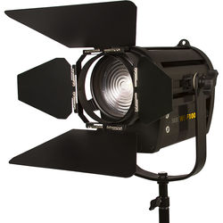 "ikan  White Star WS-F100 4"" Daylight Fresnel 100W LED Light (Black)"