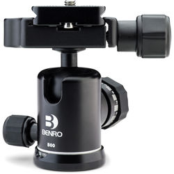 Benro B00 Triple Action Ball Head with PU50 Quick-Release Plate