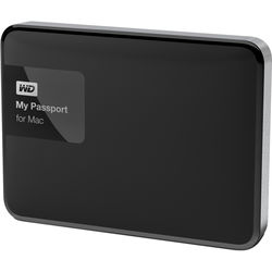 WD 1TB My Passport USB 3.0 Portable Hard Drive for Mac