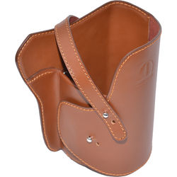 HIGH NOON CAMERA Medium Camera Holster 300L (Brown, Leather)