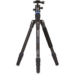 Benro FTA18AB0 Travel Angel Series 1 Aluminum Tripod with B0 Ball Head