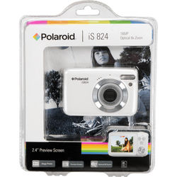 Polaroid iS824 Digital Camera (White)
