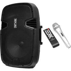 """Pyle Pro PPHP152BMU 15"""" 2-Way Portable Rechargeable PA Loudspeaker System with Bluetooth (1000W)"""