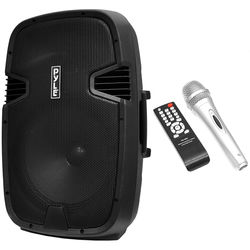 """Pyle Pro PPHP122BMU 12"""" 2-Way Portable Rechargeable PA Loudspeaker System with Bluetooth (800W)"""