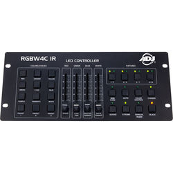 American DJ RGBW4C-IR 32-Channel DMX Controller for RGB, RGBW, and RGBA LED Fixtures (RC Compatible)