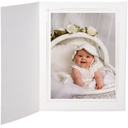"Tap Whitehouse Photo Folder (8 x 10"", White, 25-Pack)"