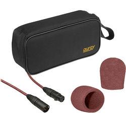 B&H Photo Video Performance Microphone Windscreen & XLR Cable ID Kit (Brown)