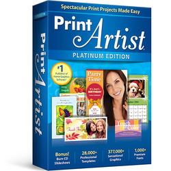 Avanquest Print Artist Platinum (Version 25, Download)
