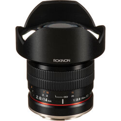 Rokinon 14mm f/2.8 IF ED UMC Lens For Canon EF with AE Chip