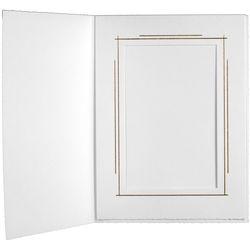 "Tap Whitehouse Photo Folder (5 x 7"", White, 25-Pack)"