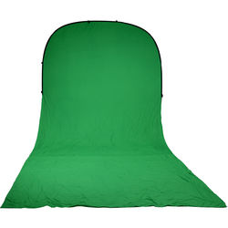 Impact Super Collapsible Background - 8 x 16' (Chroma Green)