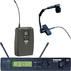 Shure ULX Wireless UHF Horn Microphone Kit (J1 / 554 to 590 MHz)