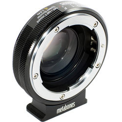 Metabones  Speed Booster XL 0.64x Adapter for Nikon F-Mount Lens to Select Micro Four Thirds-Mount Cameras