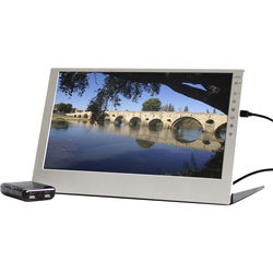 "GeChic 2501BP 15.6"" LCD Monitor with Portable Battery Pack"