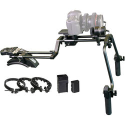 Vidpro MR-500 Motorized Follow Focus and Zoom Control DSLR Shoulder Rig
