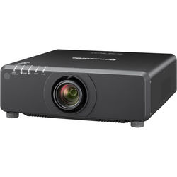 Panasonic PT-DX820BU 1-Chip 8200L XGA DLP Projector (25.6 – 35.7mm Lens, Black)