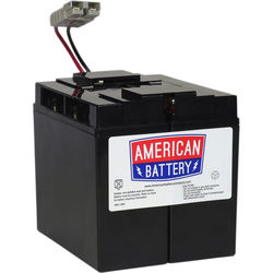 American Battery Company UPS Replacement Battery RBC7