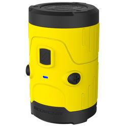 Scosche boomBOTTLE H2O Waterproof Bluetooth Wireless Speaker (Yellow/Black)