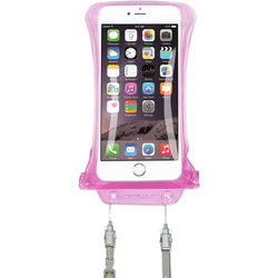 DiCAPac Waterproof Case for Samsung Galaxy Note I, II (Pink)