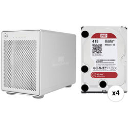 OWC / Other World Computing 16TB Mercury Elite Pro Qx2 RAID Solution Kit (4 x 4TB)