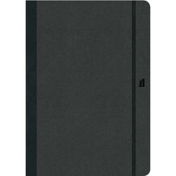 """Prat Flexbook Notebook with 192 Blank Pages (Black, 3.5 x 5.5"""")"""