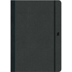 """Prat Flexbook Notebook with 192 Blank Pages (Black, 5 x 8.25"""")"""