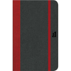 "Prat Flexbook Notebook with 192 Ruled Pages (Red, 6.75 x 9.5"")"