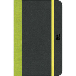 """Prat Flexbook Notebook with 192 Blank Pages (Lime Green, 5 x 8.25"""")"""