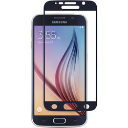 Moshi iVisor Glass Screen Protector for Galaxy S6 (Black)