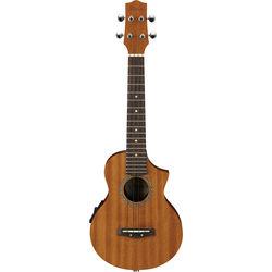 Ibanez UEW5E - Concert-Style Ukulele - Acoustic/Electric (Open-Pore Natural)