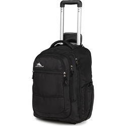 High Sierra Rev Wheeled Backpack (Black)