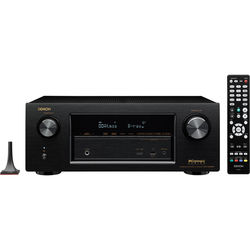 Denon IN-Command Series AVR-X2200W 7.2-Channel Network AV Receiver (Black)
