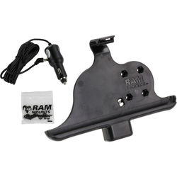RAM MOUNTS Non-Locking Powered Vehicle Cradle for Samsung Galaxy Tab Active 8.0
